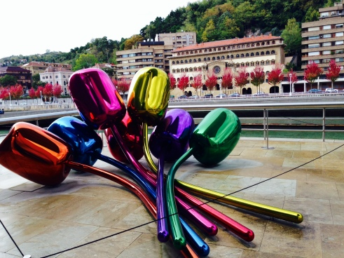 Jeff Koons' Tulips