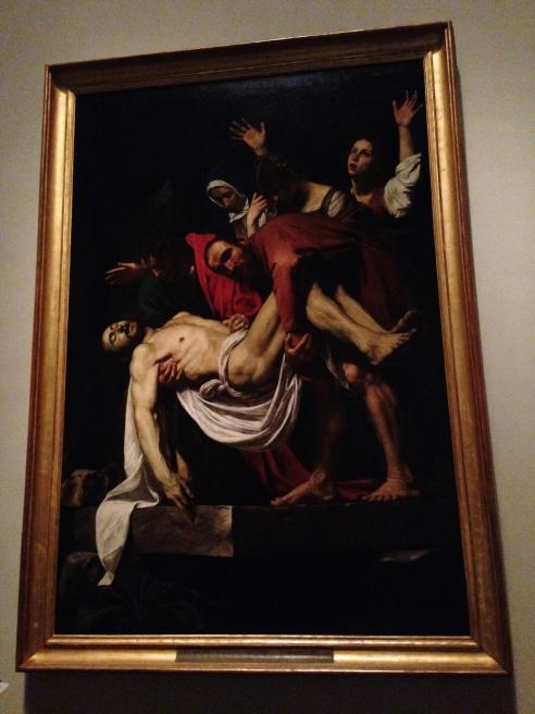 Caravaggio, Deposition