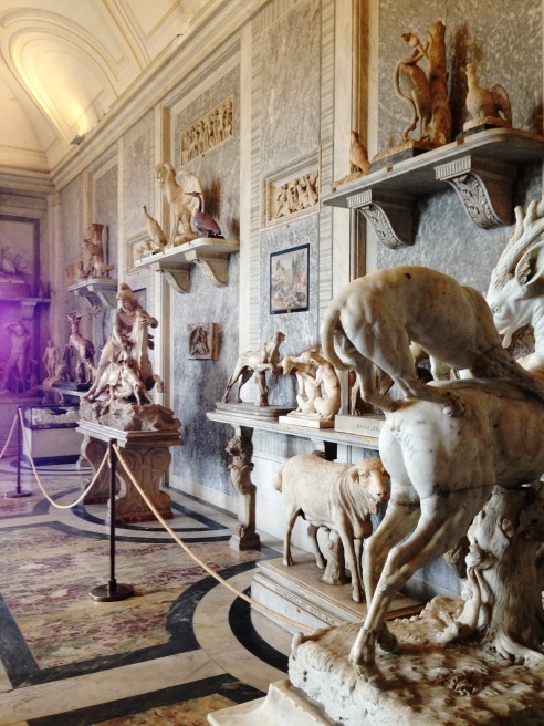 Exhibit A: the Vatican hoarding art... you couldn't even enter this room