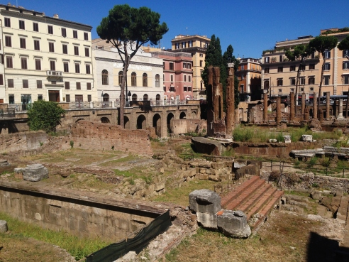 Where Caesar was assasinated