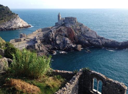 View from Andrea Doria Castle